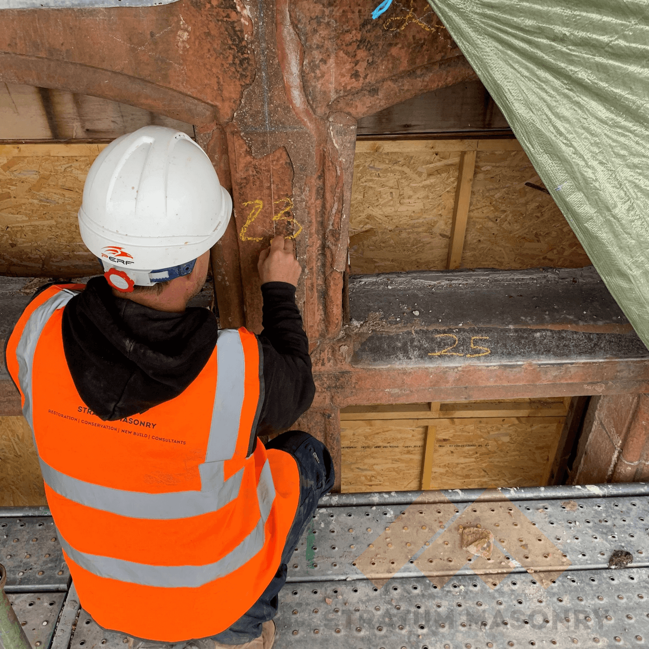 Survey Service, Stratum Stonemasons